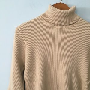 Orvis ribbed turtleneck sweater